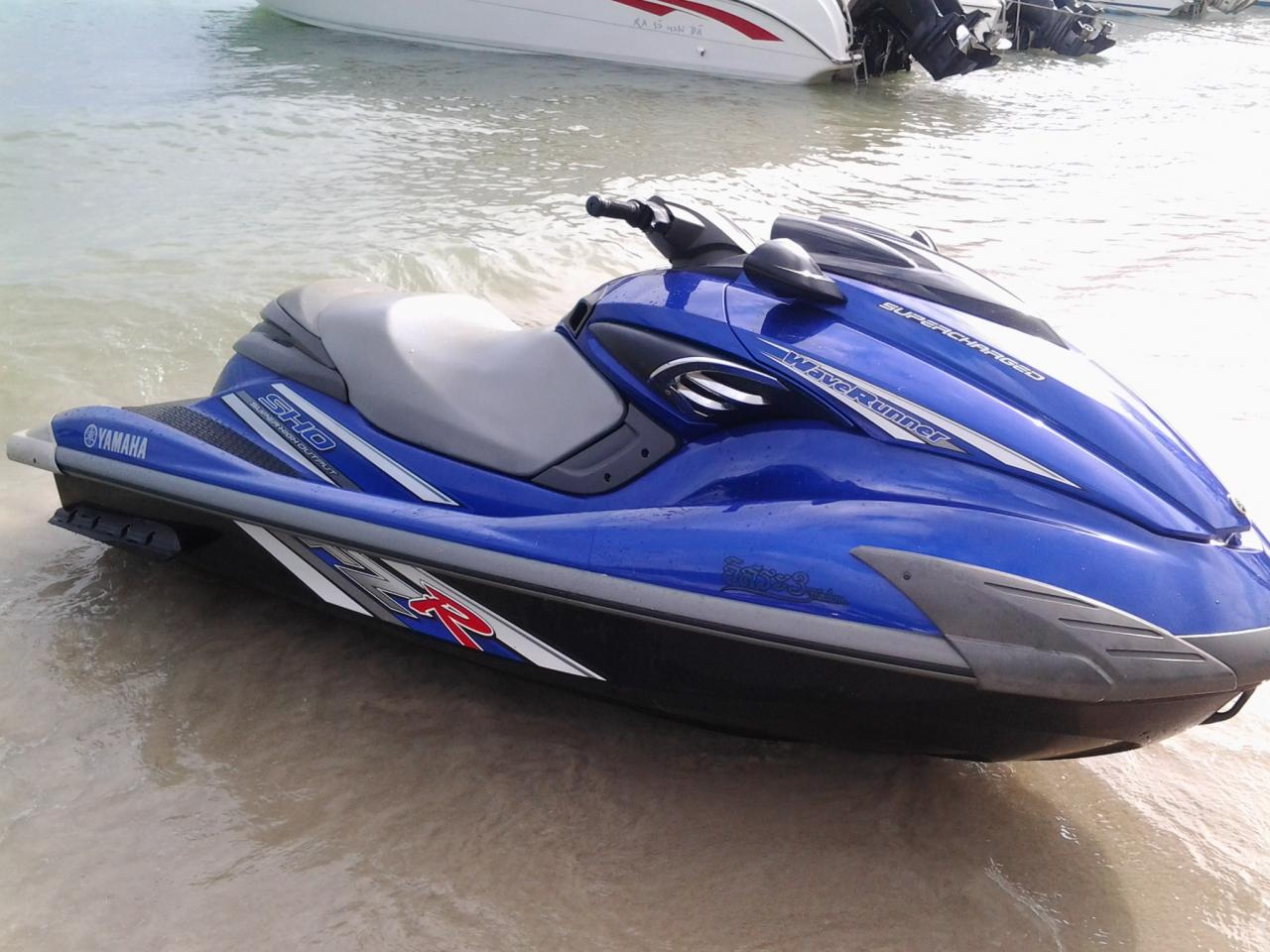 top speed yamaha supercharged 1800cc 230 hp